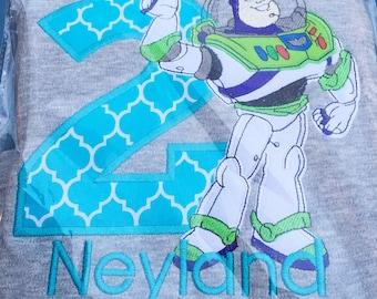 Buzz Lightyear Shirt - Toy Story - Personalized Shirt