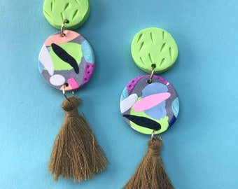 Lime crush tassel drops!!!
