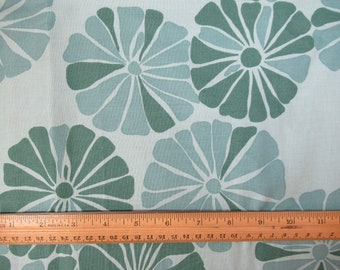 Teal Abstract Floral by Free Spirit -  1 Yard  B-1-30