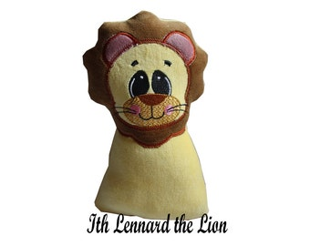 Embroidery file Lennard the lion stuffie