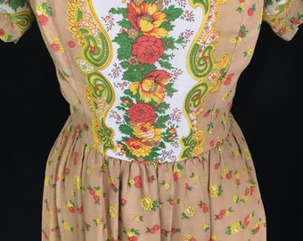 60's/70's California Charmer Mini Dress