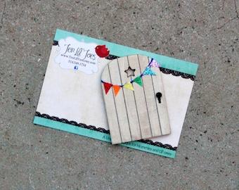 Fairy Door - Tooth Fairy Door - Fairy Garden - Gnome Door - Little Fairy Door - Tooth Fairy Ideas - Leprechaun Door - St. Patrick's Day