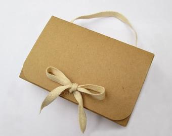 Bulk Brown Kraft Box, Gift Box, Kraft Jewelry Box Set of 50