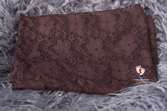 Brown Newborn Lace Layer