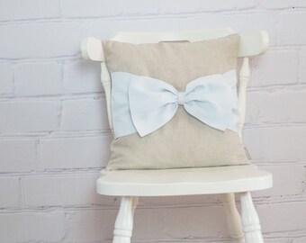 Linen throw pillow, decorative pillow, pilllow case,