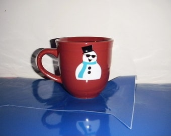 Personalized Mug with snowman