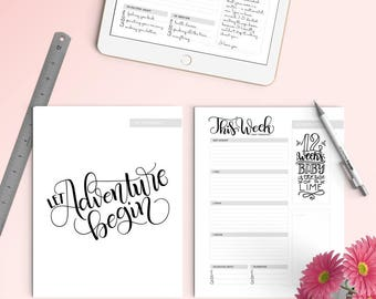iPad PRO - Pregnancy Journal (45 pages) - Letter size - For ProcreateApp