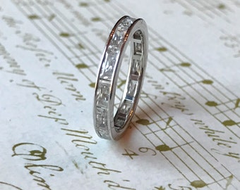 """Baguette Eternity Band - """"Brenna"""" by JYB Jewels"""
