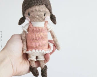 Amigurumi pattern ** Miss LuLuh ** Mr. Luiwood doll PDF
