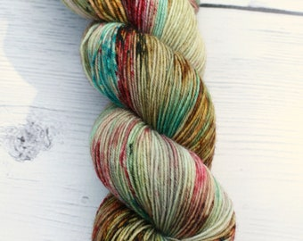 Molly Weasley  {Macabre}  75/25 Superwash BFL - Nylon - 4 Ply -  Blue Faced Leicester - Sock Yarn - Harry Potter - Ready to Ship