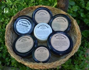 Packs de Cremas Hidratantes - Diferentes combinaciones. Consulta los packs en la descripción. Cosmética Natural, Orgánica y Bio.