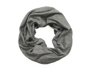 MINI INFINITY SCARF - Dark Gray Basic