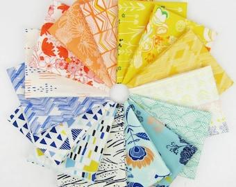 Best of Leah Duncan for Art Gallery Rainbow Fat Quarter Bundle - 15 Fat Quarters - 3.75 Yards Total