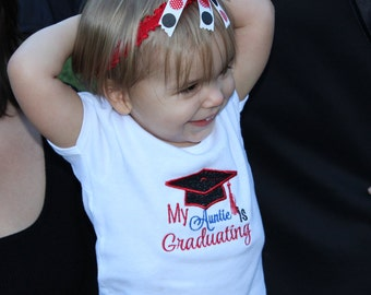 Graduation cap, graduation, college graduation, mommy, daddy, aunt, uncle, t shirt, tshirt, t-shirt, girl t shirt, bodysuit, girl clothes