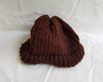 Crocheted Toboggan Cap