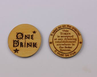 25 One Drink Token