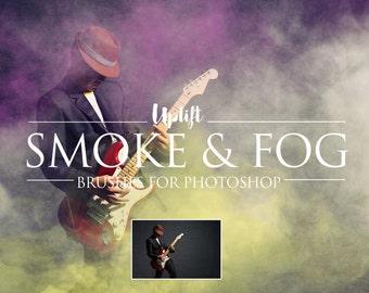 Smoke & Fog Photoshop Brushes