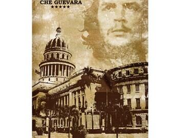 Colorful Wall Art, Cuba Art, Printable Poster, Digital Download, Printable Photography, Printable Art, Hasta Siempre  Print