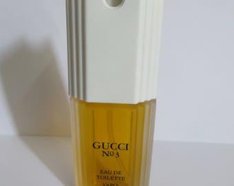 Gucci No # 3 by GUCCI Eau De Toilette for Women 50ml rare discontinued