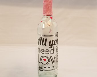 All You Need Is Love Bottle