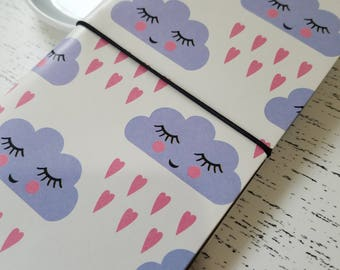 Sleepy Clouds Kawaii Traveler's Notebook
