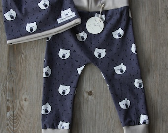 Kids Pants and Beanie Hat Set (2T)