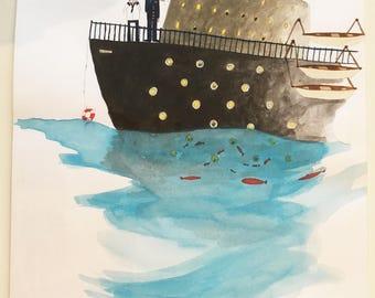 original illustration - Edition GALLIMARD youth