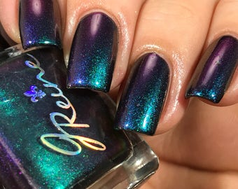 GNO Glory - Red Green Purple Blue Ultra Multichrome Mega Color Shifting Nail Polish