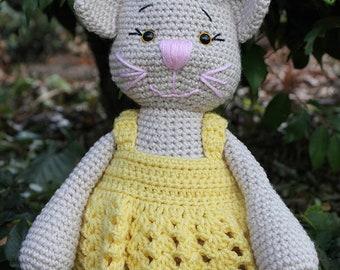Mia The Cat - PDF Crochet Pattern