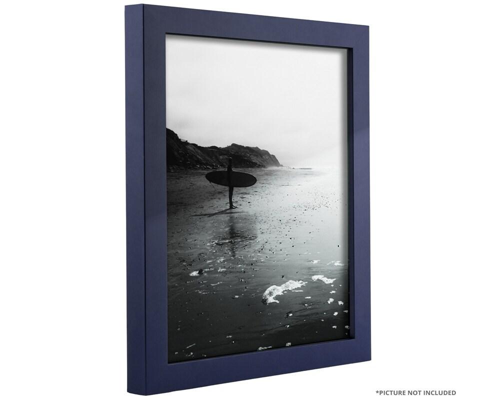 Craig Frames 18x24 Inch Navy Blue Picture Frame .75