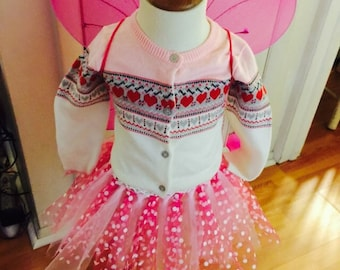Valentine's Day Princess tutu skirt