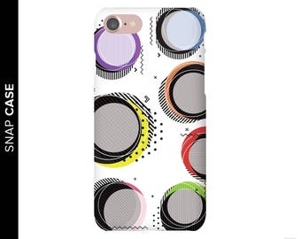 Abstract Circles Phone Case, Abstract iPhone 6 Case, iPhone 7 Case Abstract Art, iPhone 6 Phone Case, Samsung Phone Case, Samsung Case,
