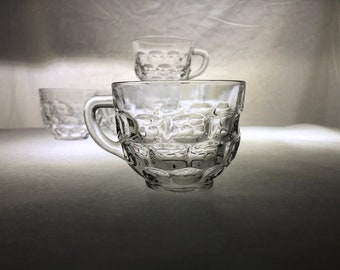 Yorktown by Federal Glass Co. | Punch Cups | Set of Six