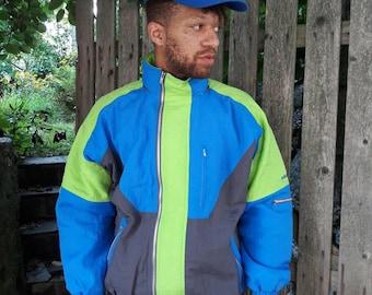 Vintage Adidas ski jacket men's size medium men's size extra large 1980s 1990s deadstock nwt