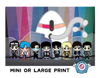 EXO Prints & Buttons