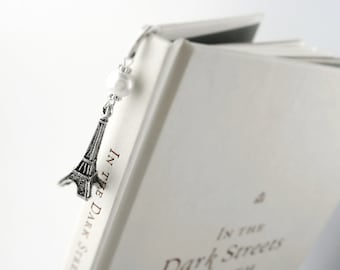 Paris Bookmark Womens Paris Gift Her Women Bookmark Her Eiffel Tower Book Mark Gift For College Girl Women College Gift Her Small