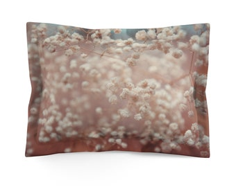 Blooming Tree Microfiber Pillow Sham