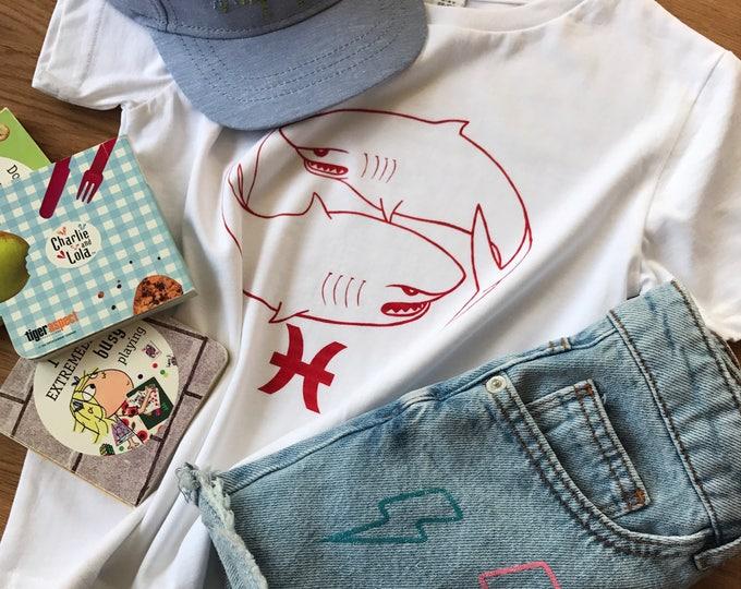 Pisces Zodiac - Organic Toddler T-shirt