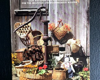 For the love of Baskets Easy Patterns and Illustrations for the beginner and Intermediate weaver