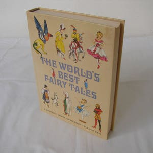The World's Best Fairy Tales-vol.2 with 34 well-known stories for children, Readers Digest 1977,beautiful