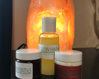 3 products for 15.00 deal. Mix and match either of the ten Garden Essential body products.