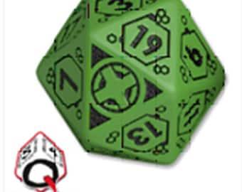 Infinity RPG Dice Set - Ariadna BOX (7 Unique Dice) - 050495 - Modiphius Entertainment