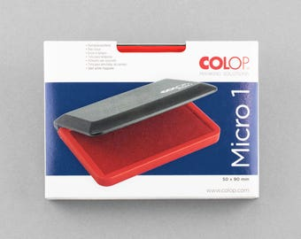 Stamp Pad Red 9 x 5 cm COLOP Micro 1