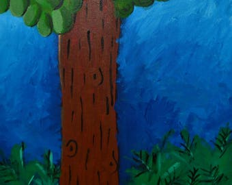 Redwood Painting