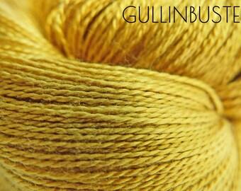 GULLINBUSTE Lace - 100 % Mulberry Silk yarn