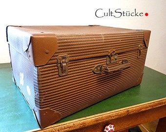 and goodbye-Special vintage suitcase
