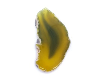 85x46mm natural stone agate slice