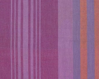 Fabric by the Yard - Loominous Headlines in Grape by Anna Maria Horner