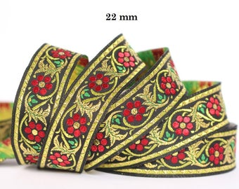 10 m couture lace embroidered Jacquard * 22mm wide