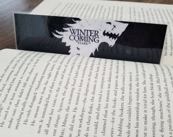 Game of Thrones Winter is coming bookmark